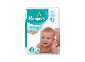 PAMPERS PROCARE PREMIUM PROTECTION NO 2 36 ΤΕΜΑΧΙΑ