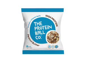 THE PROTEIN BALL CO ΜΠΑΛΙΤΣΕΣ ΠΡΩΤΕΙΝΗΣ PEANUT BUTTER 6 ΤΕΜΑΧΙΑ - 45GR