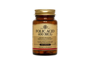 SOLGAR FOLIC ACID 400 MG 100 TABS